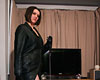 Bbw amateur leather clad femdom  amateur model mizz tig dominates her sub. Amateur model Mizz Tig dominates her sub.