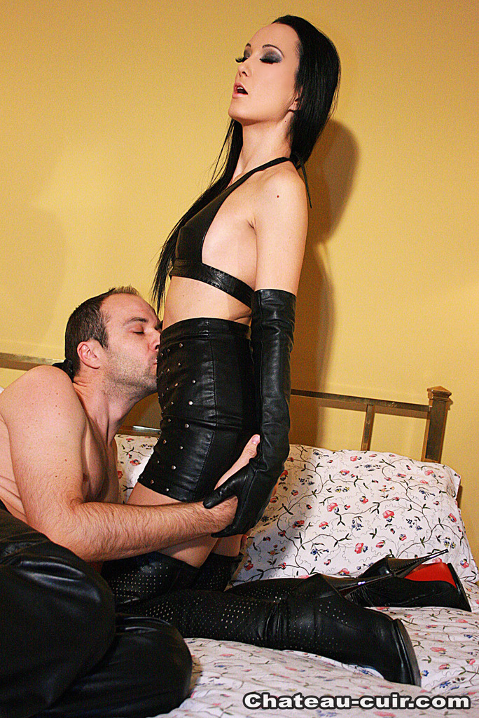 Couples leather sex — 7