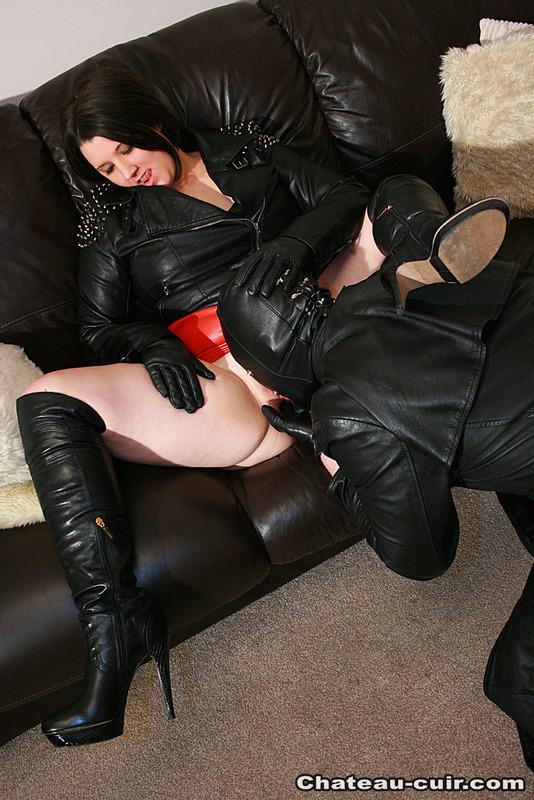 leather sex vids
