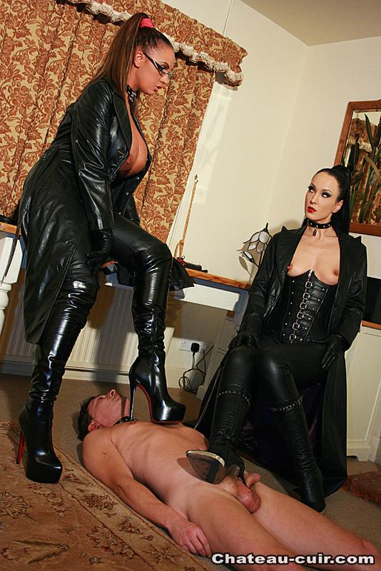 зрелая госпожа и раб на украинском - 1